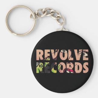 Chaveiro Revolva o logotipo dos registros