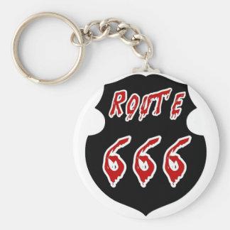 CHAVEIRO ROTA 666