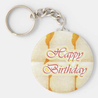 Chaveiro Roteiro do feliz aniversario: Cristal puro do
