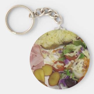 Chaveiro Salada e molho do presunto