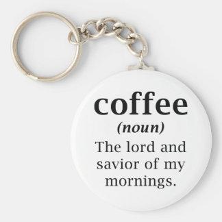 Chaveiro Senhor e salvador do café