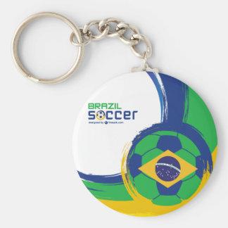 Chaveiro Série Brasil - Bandeira e Bola