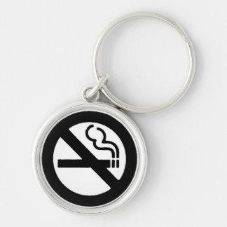 Chaveiro Símbolo não fumadores