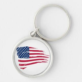 Chaveiro superior - bandeira americana