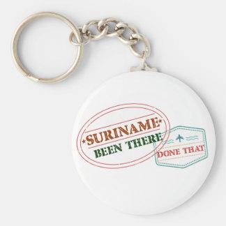 Chaveiro Suriname feito lá