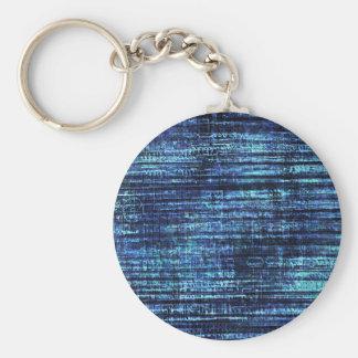 Chaveiro Teste padrão azul escuro da sarja de Nimes