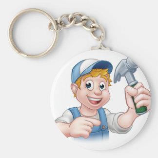Chaveiro Trabalhador manual do carpinteiro que guardara o