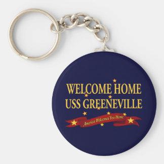Chaveiro USS Greeneville Home bem-vindo