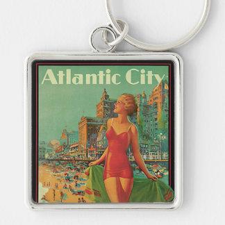 Chaveiro Viagens vintage, louro da praia do recurso de