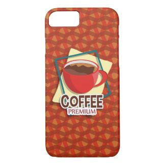 Chávena de café deliciosa da ilustração capa iPhone 7