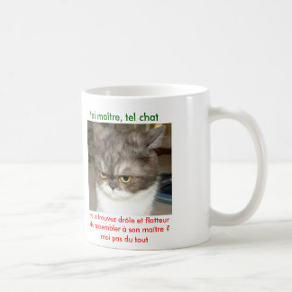 chávena gato humor caneca
