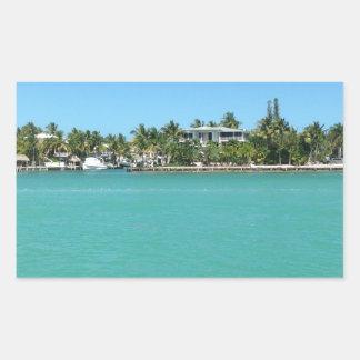 Chaves de Florida Adesivo Retangular