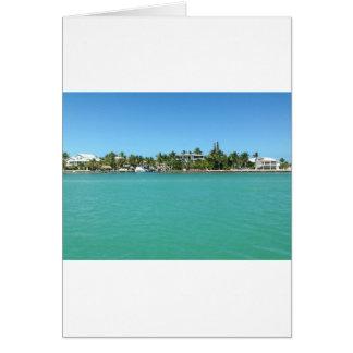 Chaves de Florida Cartão Comemorativo