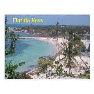 Chaves de Florida Cartão Postal