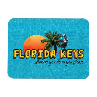 Chaves de Florida Foto Com Ímã Retangular