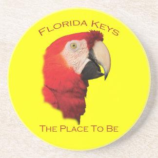 Chaves de Florida Porta Copos De Arenito