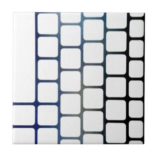 Chaves pescadas azulejo quadrado pequeno