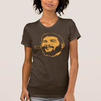 Che Guevara com o t-shirt do retrato do charuto