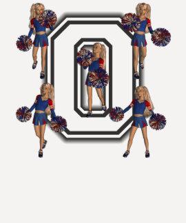 Cheerleaderes para Obama jérsei O da escola T-shirt