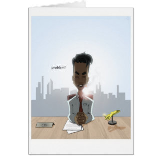 Chefe Cartão De Nota