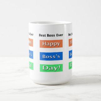 Chefe do dia do chefe o melhor nunca caneca