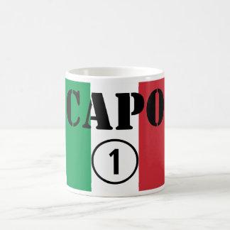 Chefes italianos ONU de Numero do Capo Canecas