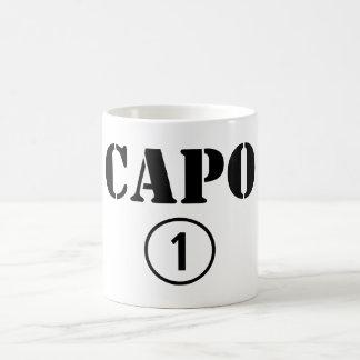 Chefes italianos ONU de Numero do Capo Caneca