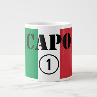 Chefes italianos ONU de Numero do Capo Caneca Gigante
