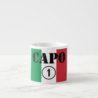 Chefes italianos ONU de Numero do Capo Xicara De Café Expresso