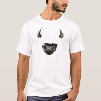 cheio da cara do touro tshirts