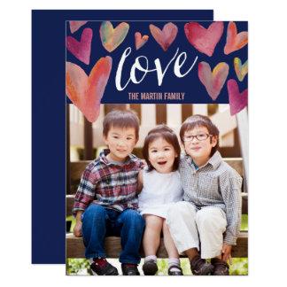Cheio de cartões com fotos do dia dos namorados do