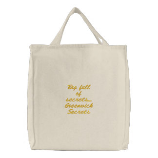 Cheio do saco de segredos de Greenwich dos segredo Bolsa Para Compra