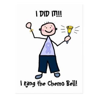 Chemo Bell - general Cancer Homem Cartão Postal