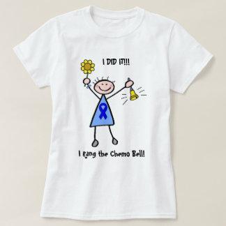Chemo Bell - mulher do cancro do cólon Camisetas