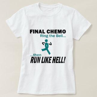 Chemo final funciona muito - câncer de ovário tshirts