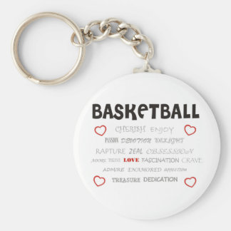 cherish-basketball. chaveiro