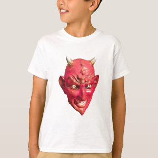 Chifres do inferno do demónio da satã do diabo camiseta