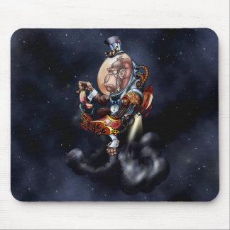 Chimpanzé do espaço de Steampunk Mouse Pad