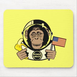 Chimpanzé Mousepad do espaço