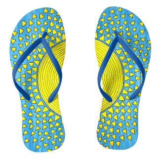 Chinelos Luz do sol para seus pés