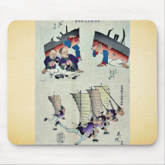 Chinês que recebe primeiros socorros por Kobayashi Mouse Pad