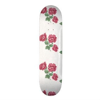 Chique delicado do país cor-de-rosa & laço shape de skate 18,7cm