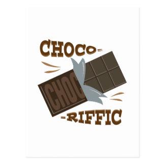 Choco-riffic Cartão Postal