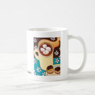 Chocolate & chocolate caneca de café