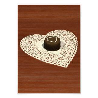 Chocolate dos namorados foto arte