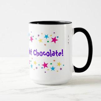 Chocolate quente caneca