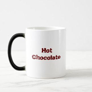 Chocolate quente caneca mágica