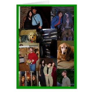 Chris bday cartão comemorativo