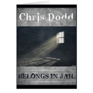 Chris Dodd Cartão Comemorativo