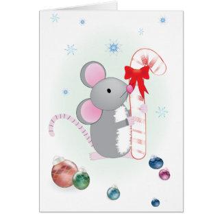 Chris-Rato alegre Cartão Comemorativo